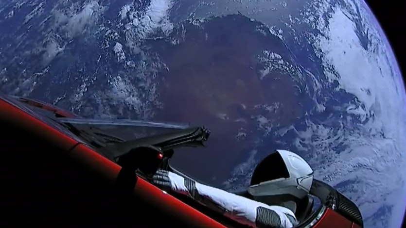 ილონ მასკის მიერ კოსმოსში გაგზავნილი მანქანა, შესაძლოა, ჩამოვარდეს